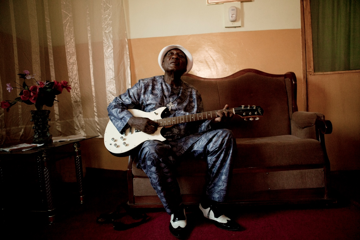 Ebo Taylor in Saltpond, Ghana on November 25, 2011.