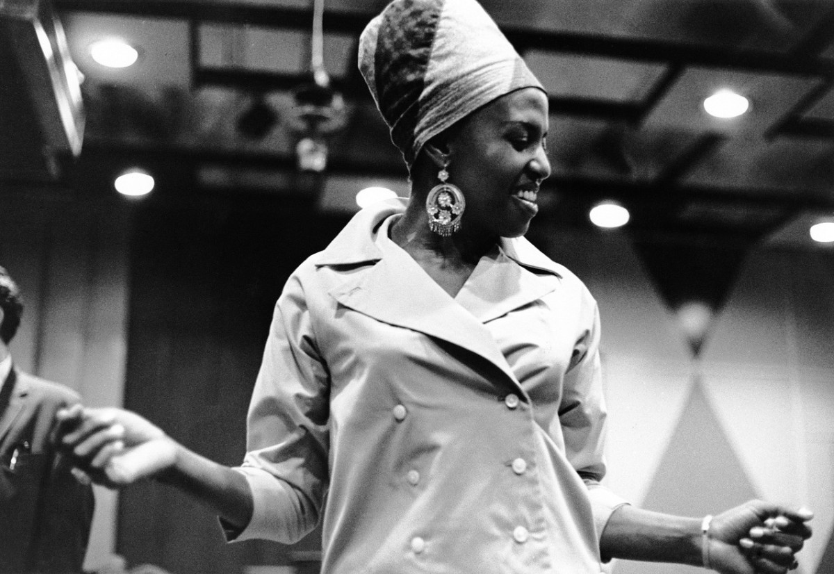 Miriam Makeba In The Studio